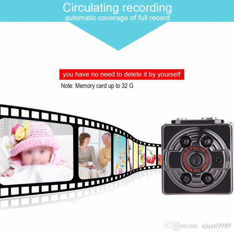 SQ8 Mini Camera HD 1080P 720P digital Camera Sport DV Voice Video Recorder Infrared Night Camcorder Smallest Camera Micro