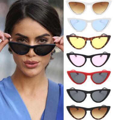 8a9b0383c7 Compre Ojo De Gato Gafas De Sol Para Mujer De Moda Vintage Retro Ojo De Gato  Triángulo Gafas De Sol UV400 Eyewear Gafas Al Aire Libre Gafas CCA9408 A  $2.4 ...