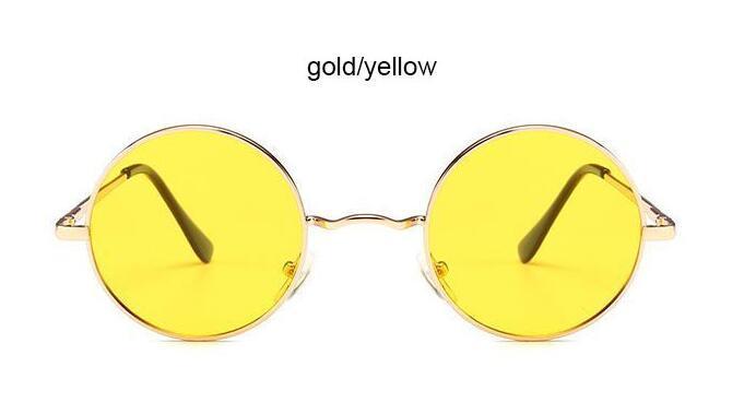 b8ddb8639f 2018 Ray Brand Designer Classic Driving Polarized Round Sunglasses Men Retro  John Lennon Glasses Women Metal Spring Leg Eyeglasses Designer Sunglasses  ...