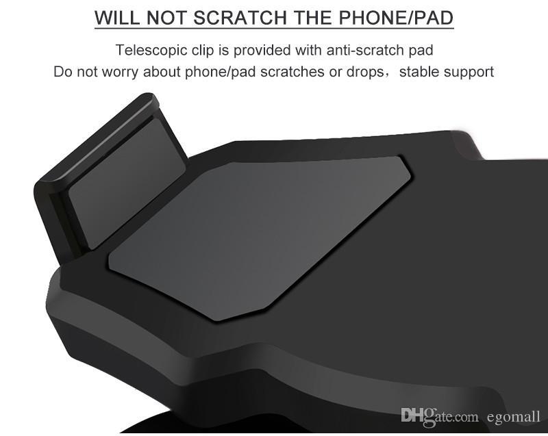 Rotación universal de 360 ° Collar flexible Lazy Hanging Neck phone Soporte de soporte Soporte Soporte Soportes para iphone X Samsung S9 HTC Smartphone