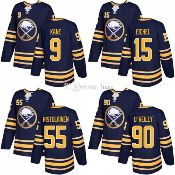 0b7f5dfc0 2019 2018 Buffalo Sabres Winter Classic Jerseys  15 Jack Eichel 9 Evander  Kane 23 Sam Reinhart 90 Ryan O Reilly White Stitched Hockey Jersey From  Husa