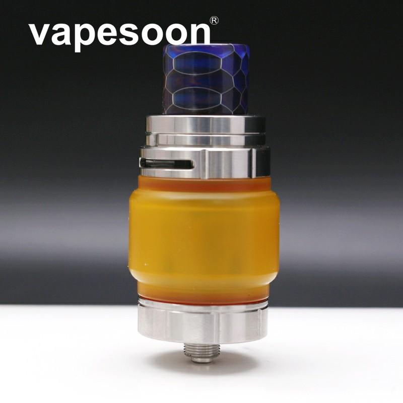 golden yellow color Replacement glass tube Resin bubble tube for TFV8 big baby,TFV8 X baby 2ML / 4ML,TFV12 prince Atomizer tank