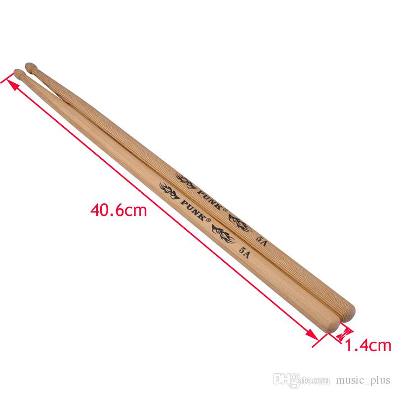 Wooden Drum Sticks Wood Tip Drumsticks for Japan Ash 5A/5B/7A