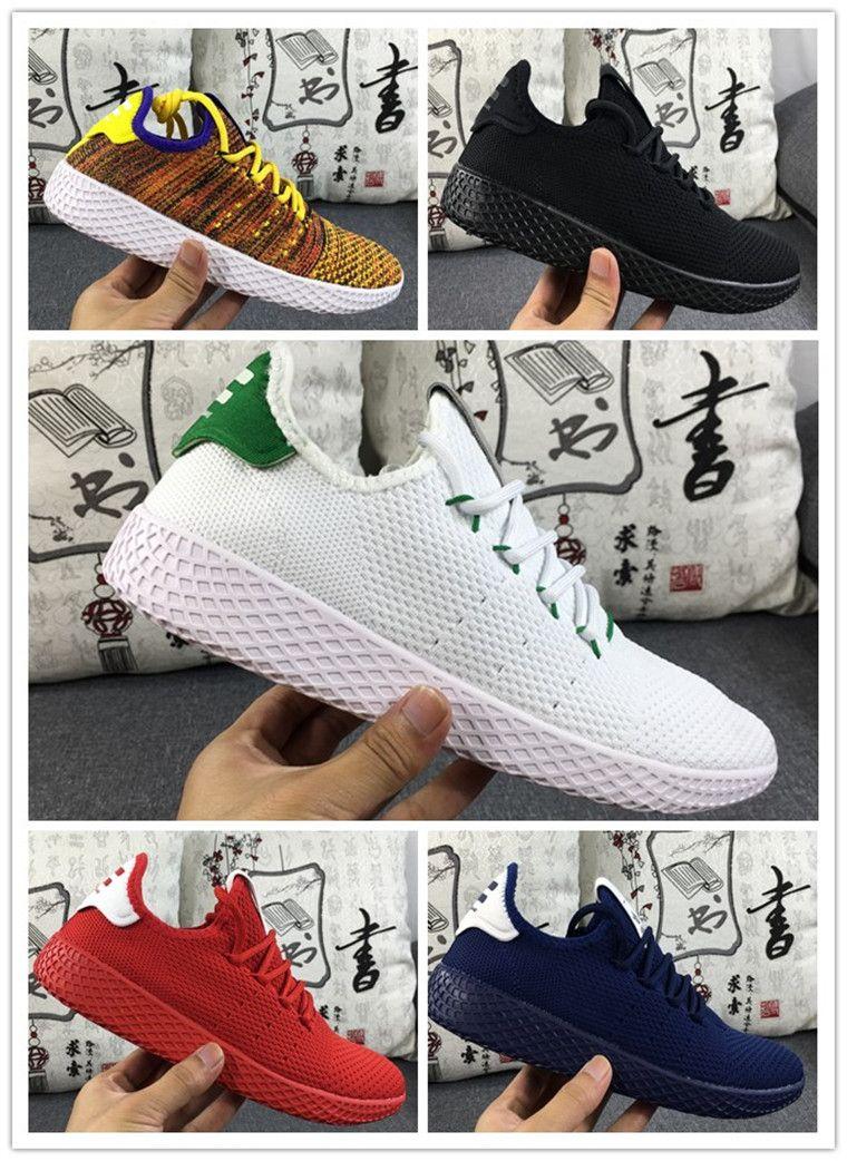 Abbigliamento Running Nuovo Arrivo Pharrell Williams X Stan Smith Tennis Hu  Primeknit Uomo Donna Scarpe Da Corsa Sneaker Traspirante Scarpe Sportive Da  ... eee9025cd24