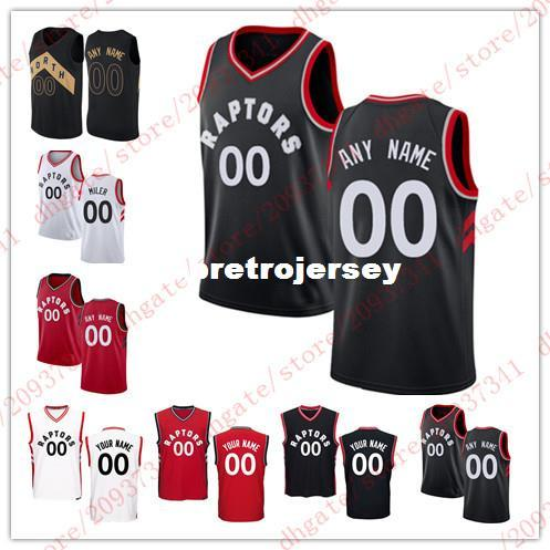 5bdbbed9b Custom New Jersey Cheap Stitched Customize Any Number Any Name Mens Youth  Women Personalized Red Black White T Shirt Vest Basketball Jerseys Custom  Toronto ...