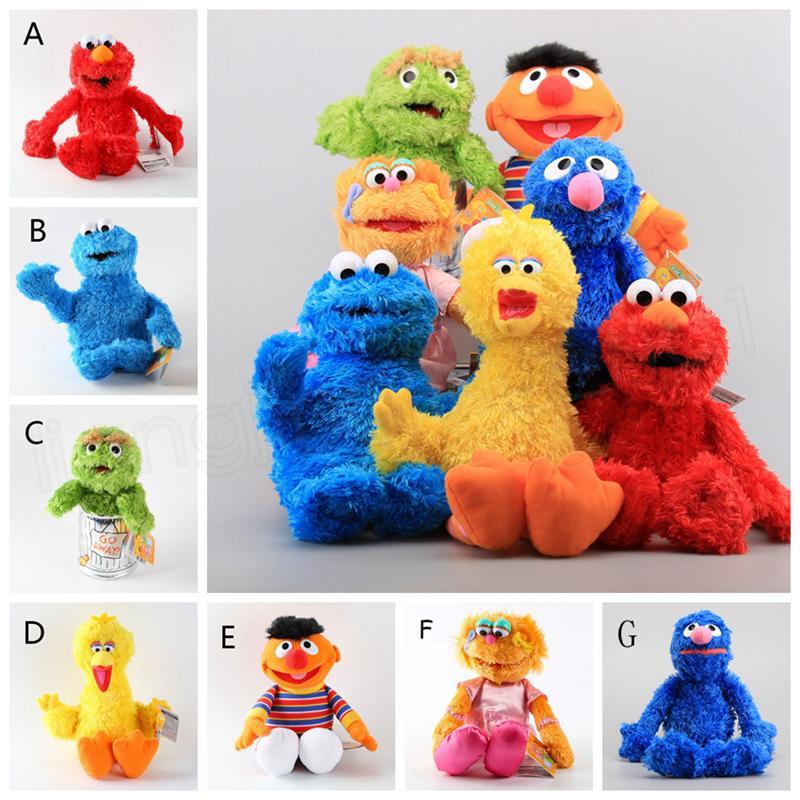 0d33bcdc8b Sesame Street Plush Doll 33cm Ballerina Zoe Bert Elmo Big Bird Cookie  Monster Dolls Gifts Stuffed Toys Novelty Items GGA1107 Kids Novelty Gifts  Kids Novelty ...