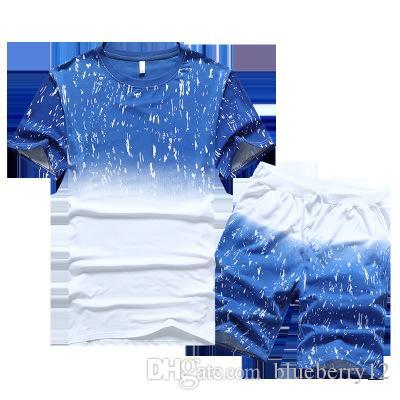 M-4xl moda casual sport tracks manga curta fino verão dos homens de manga curta t-shirt dos homens ternos de desgaste em casa