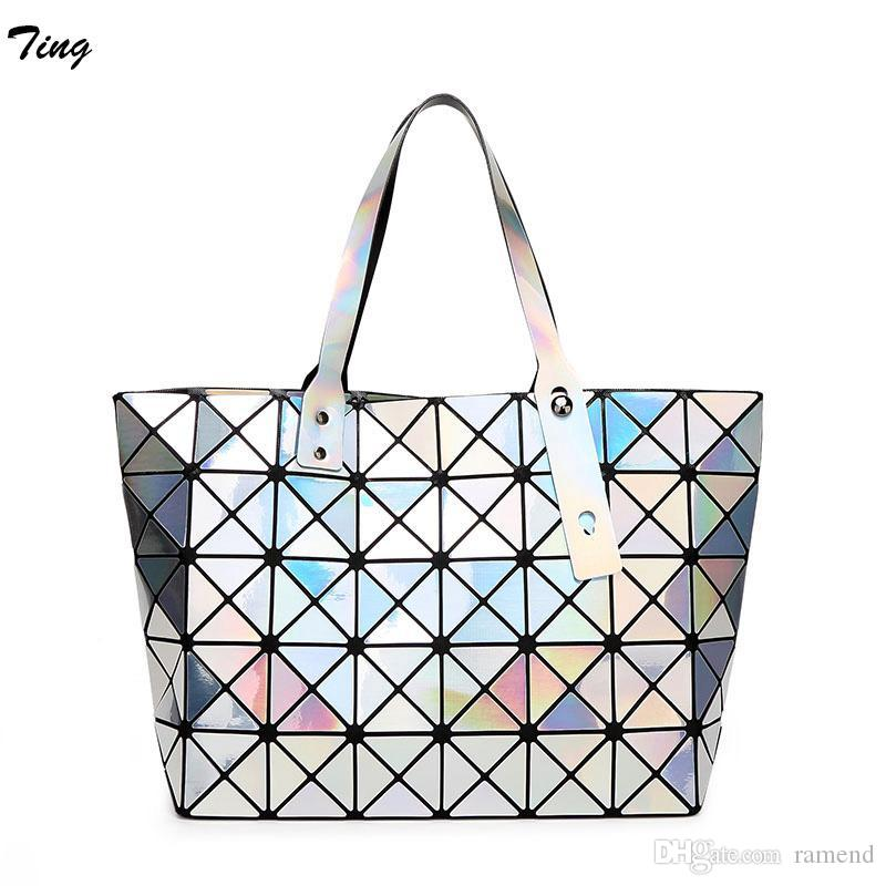 4559a185da3a Wholesale-baobao Designer Women Geometry Handbags Issey High Quality ...