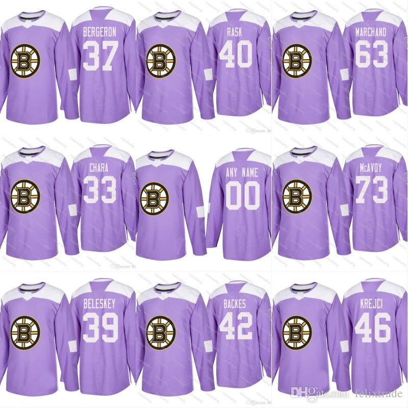 mens reebok boston bruins 10 anders bjork authentic black third nhl jersey  hots  25 2018 hockey fights cancer boston bruins practice purple jersey 33  zdeno ... ee4ec0084