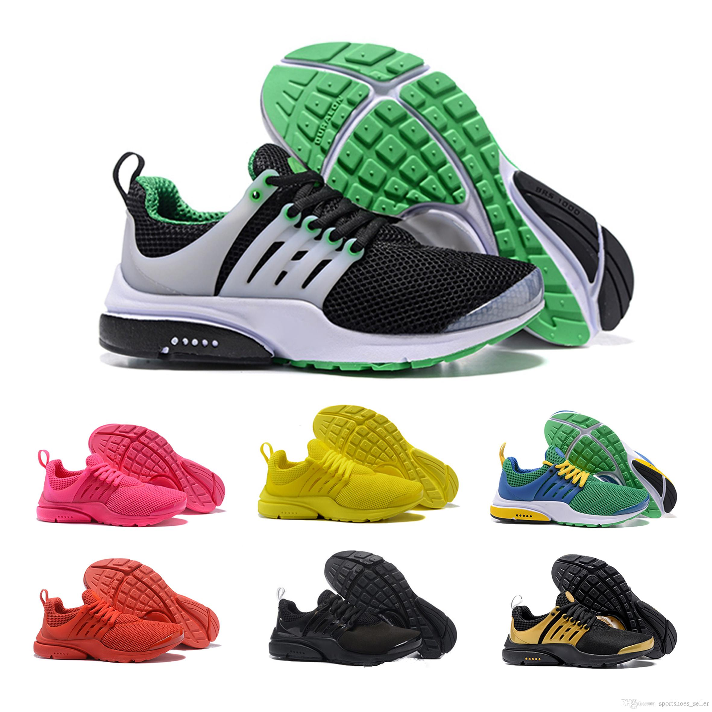 buy popular f314d 0e53a New Hot Presto 5 Ultra BR QS Black White All Yellow Purple Running Shoes  For Women Men Top Prestos V Casual Sports Sneakers Mens Sneakers Cheap Shoes  From ...