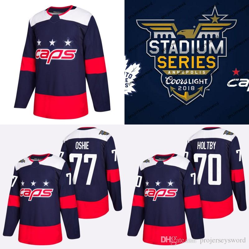70 Braden Holtby Jersey 2018 Stadium Series Washington Capitals 19 ... 9dd8c6d8d