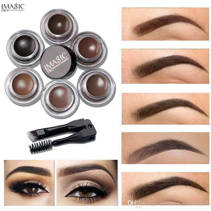 Imagic Professional Eyebrow Gel High Brow Tint Makeup Eyebrow Brown