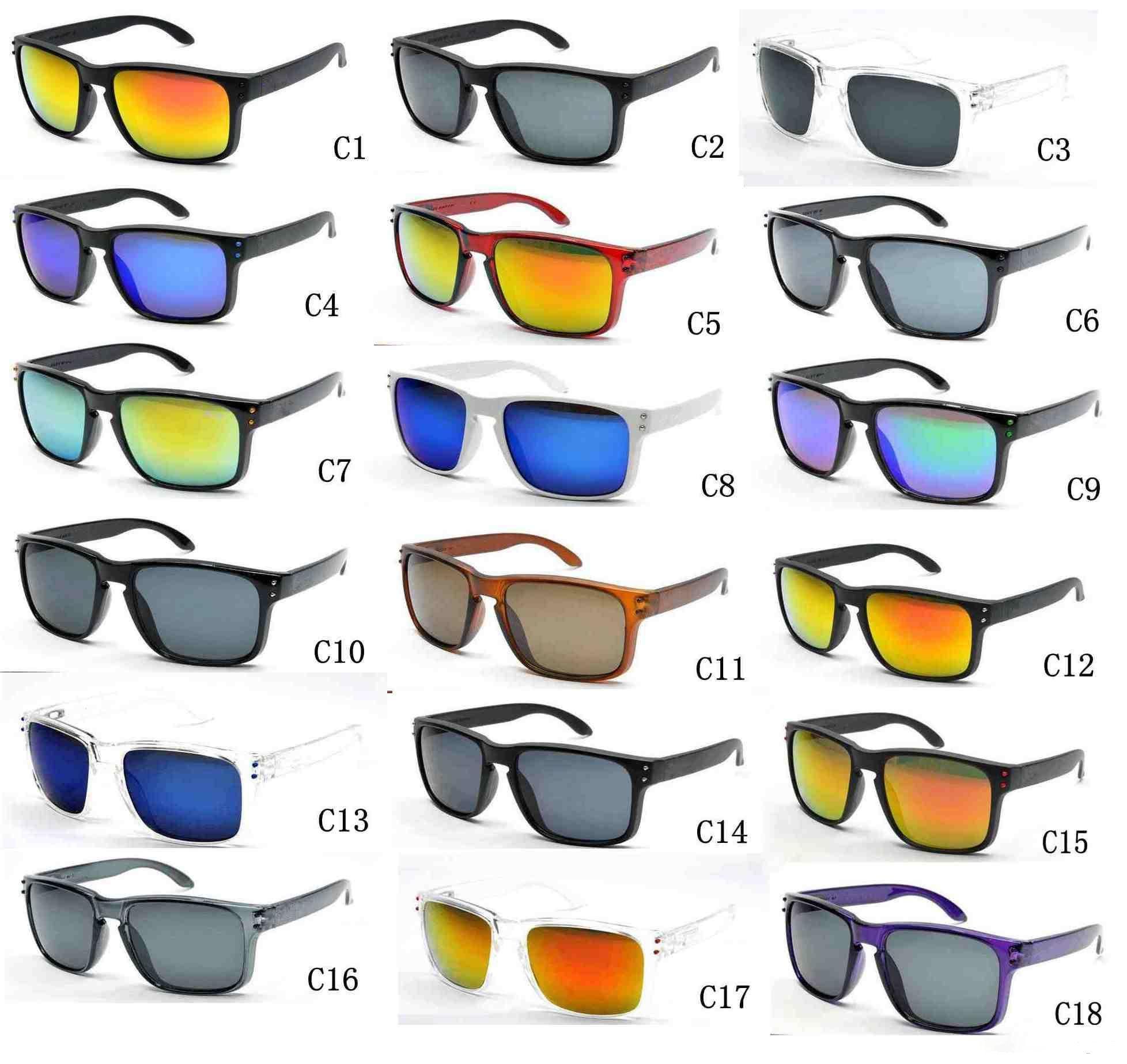Melhor venda quente logotipo da marca 9102 não polarizada uv400 óculos de sol dos homens das mulheres do esporte óculos de ciclismo eyewear óculos óculos 18 opções de cores
