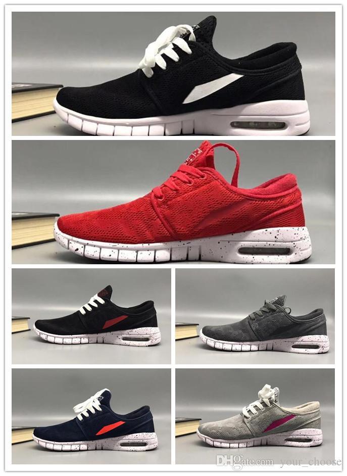 size 40 83a09 70c3f ... SB Stefan Janoski Chaussures Hommes Femmes Chaussures De Course Maxes  Haute Qualité Sport Athlétique Hommes Formateurs Air Designer Baskets Taille  36 45 ...