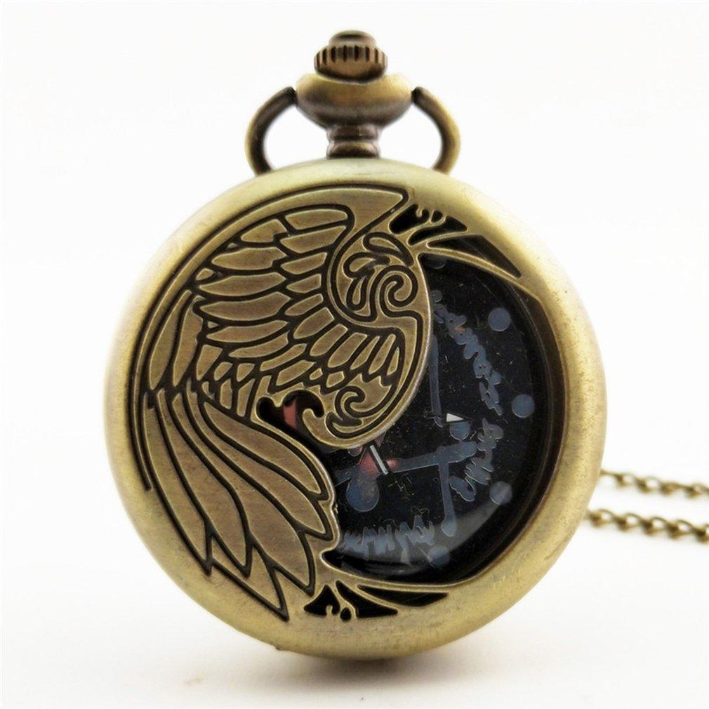 6163c3f6636 Compre 2018 Chinês Barato Zodíaco Do Vintage Antigo Relógio De Bolso De Quartzo  Relógio De Pingente De Colar Para Homens Das Mulheres Melhores Presentes ...