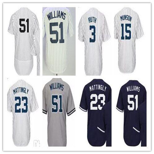 finest selection 3c922 a745a thurman munson 15 white authentic jersey sale