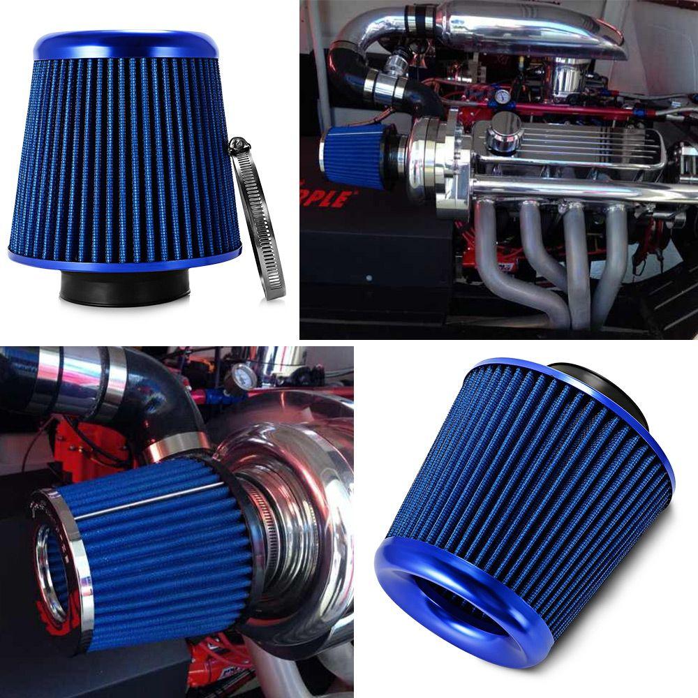 Luftfilter Universal Auto Kaltlufteinlass High Flow Filter Einfache Installation Konischen Stil Auto Ansaugfilter Autoteile
