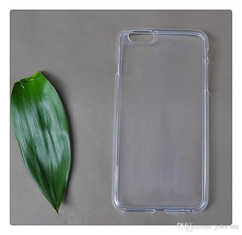 3cd3ef589cd Fundas Personalizadas Para Iphone X 8/8 Más Transparente TPU Gel Crystal  Clear Suave Funda De Silicona Cubierta Posterior Para Samsung Note 7 Galaxy  S7 EDGE ...