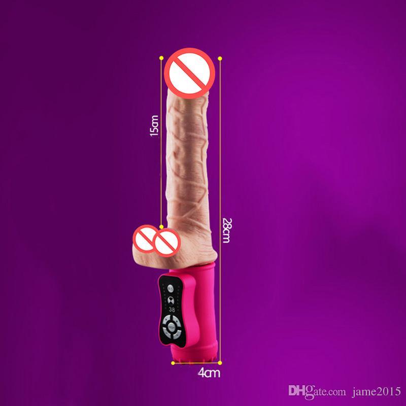 Vibromasseur Sex Toys pour femmes avec chauffage USB charge Reailstic énorme gode Vibrateur Portable stimulateur clitoris adulte Sex Toy