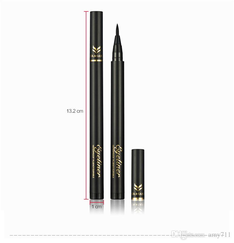 New China Brand HUAMIANLI Eyeliner Pencil Black Dark Brown waterproof Thickness Control Eye liner High quality DHL shipping