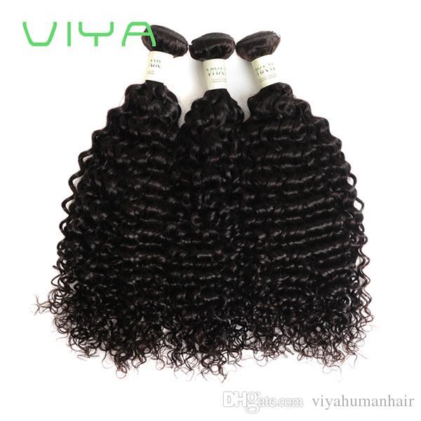 9a Virgin Hair Curly Gold Suppliers 100% Virgin Peruvian Human Hair Extension Virgin Remy No Shedding Hair With