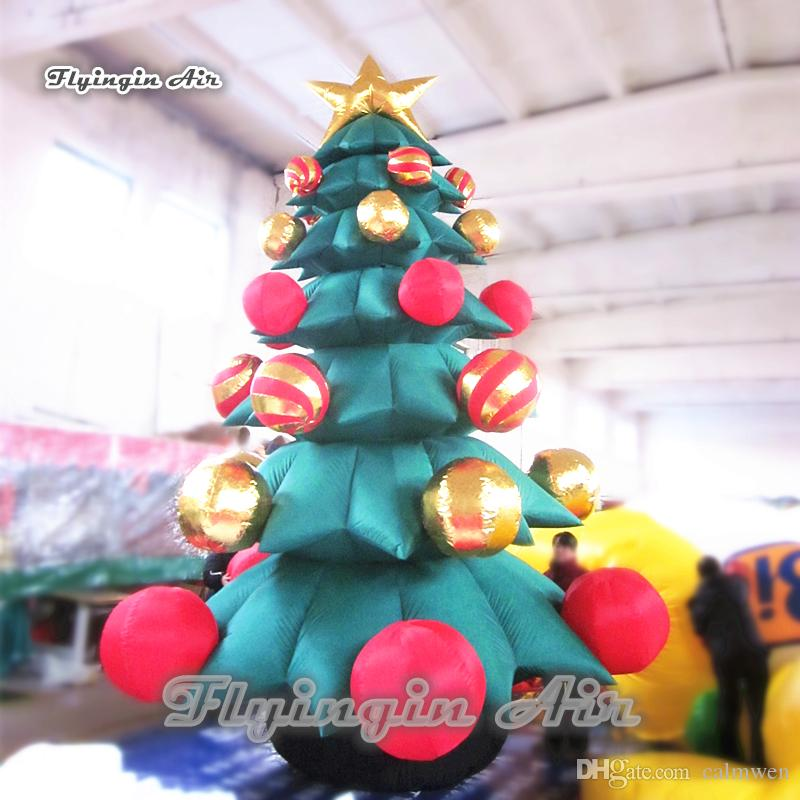 2018 inflatable christmas tree 5m6m height large blow up xmas yard tree for outdoor holiday decoration from calmwen 103016 dhgatecom - Blow Up Christmas Decorations
