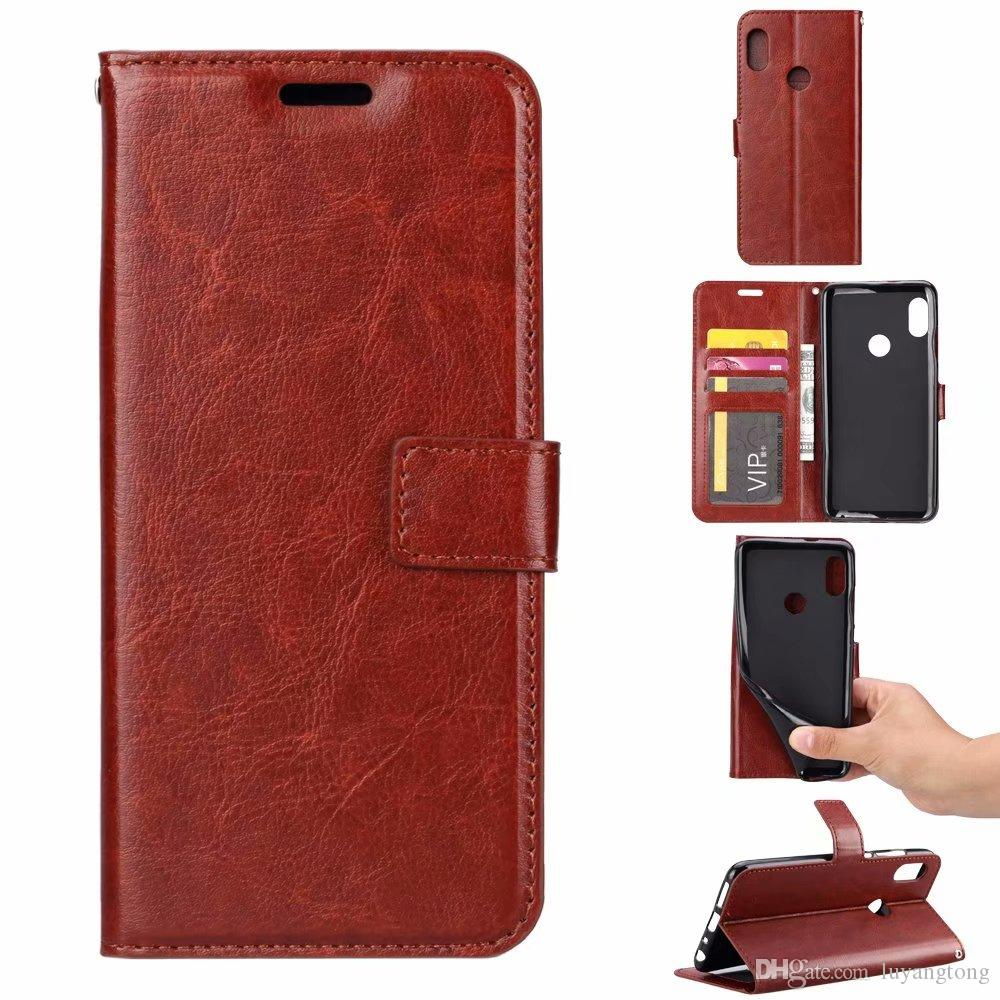 reputable site b0f6f 40081 For Xiaomi Pocophone F1 Case Wallet Leather Cover for Xiaomi Redmi 6 Pro  Case Stand Leather Flip Case Redmi Note 5 Pro Flip Cover