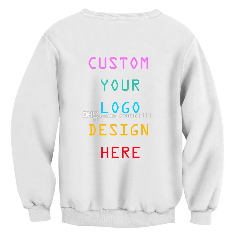 99fe41659 2019 Custom Made Pullover 3d Hoodies Men Women Sweatshirt Customize Design  Hoodie Couples Tops Tee S 5XL Diseño Personalizado Drop Shipping From  Connie1111, ...