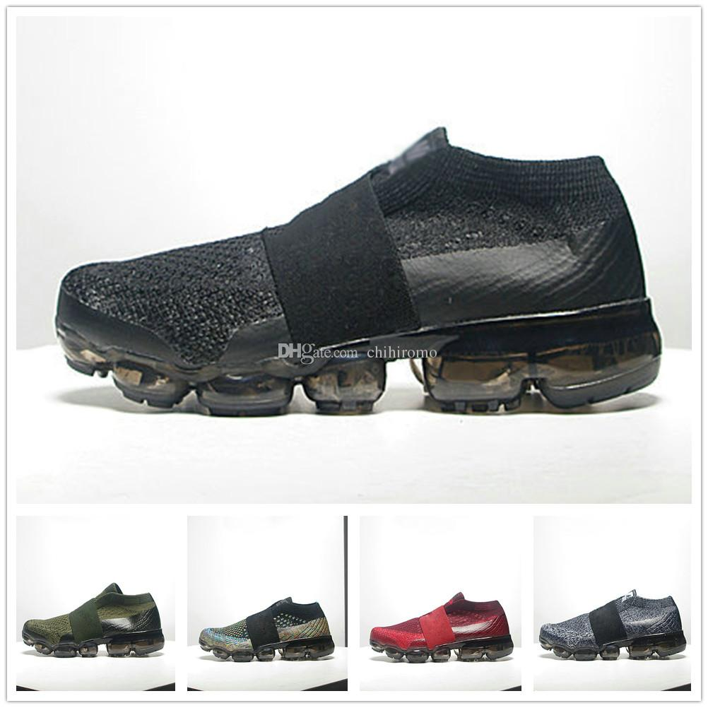 d6a0bd0e5e1 Acquista Nike Air Max Vapormax Airmax VM 2018 Baby Kids Sneakers Running  Shoes Bambini Scarpe Da Ginnastica Slip On Ragazzi Ragazze Formazione Sport  ...
