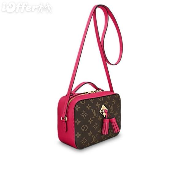 13304a29b9 Saintonge M43557 Freesia Pink Rose Handbag Women Handbags Shoulder  Messenger Bags Totes Iconic Cross Body Bags Top Handles Clutches Evening