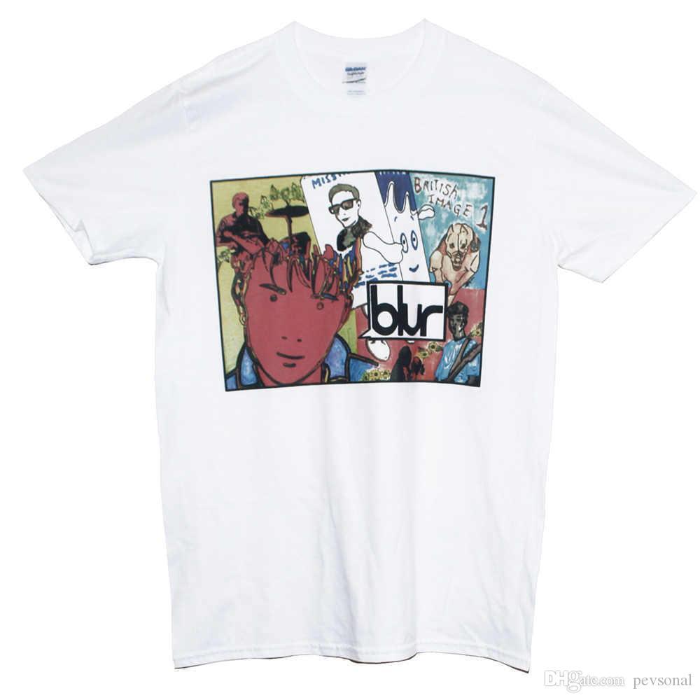 b259147f4 2018 Summer Casual Man T Shirt BLUR BRITPOP T Shirt New Indie Rock ...