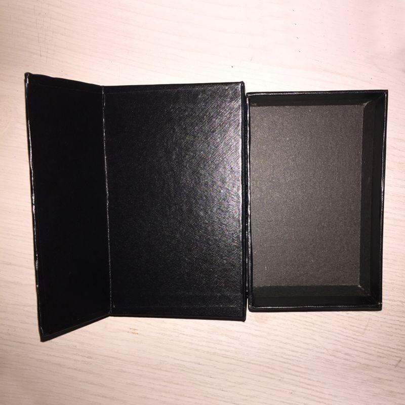 10 قطع لا شعار ورقة التعبئة والتغليف evabinable مع هدية مربع هدية تغليف مربع مستطيلة هدية مربع حجم 145x90x52mm