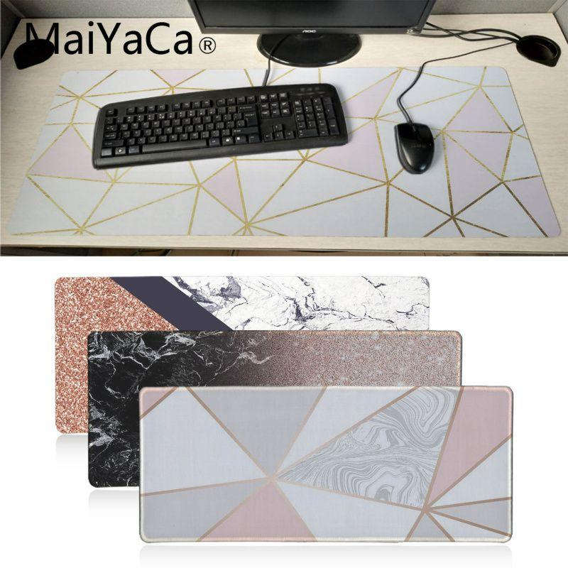 Maiyaca cool rose gold marble keyboard mat desk mat durable desktop maiyaca cool rose gold marble keyboard mat desk mat durable desktop mousepad rubber professional gaming mouse pad computer wrist rest pad wrist rests from gumiabroncs Choice Image