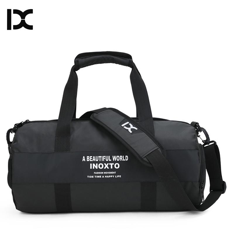 13efb6879eb9 2019 Dry And Wet Separation Men Sports Fitness Training Gym Bag For Shoes  Storage Male Large Capacity Waterproof Swim Travel XA953WD From Fwuyun