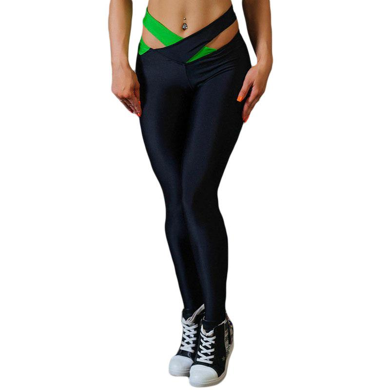 5eb64a1bf07 Women Leggings Fitness Slim Skinny 2019 Elastic Patchwork Pants For Fitness  Dry Quick Workout Capris Pantalones Mujer Online with  31.51 Piece on ...
