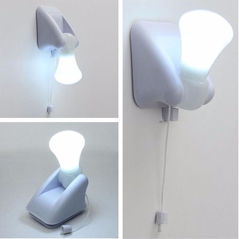2018 Portable Wire Led Bulb Cabinet Lamp Night Light Battery ...
