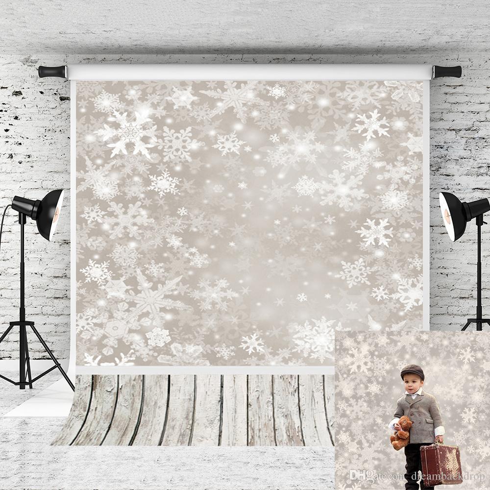 Großhandel Traum 5x7ft Weihnachten Fotografie Hintergrund Weiß ...