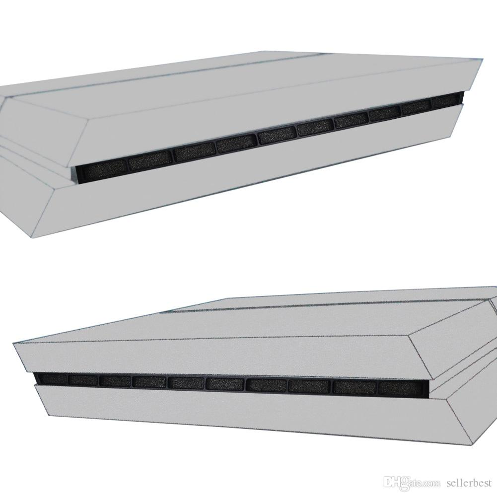 2 In 1 Toz Geçirmez Kapak Kılıf Önleyin Mesh Jack Stopper Paketi SONY PlayStation 4 PS4 Oyun Konsolu için Toz Geçirmez Kiti aksesuarları