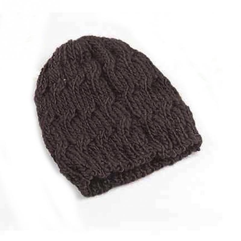 Spring Sweet Girls Wearin Cap Women Lady Girls Winter Warm Knitted ...