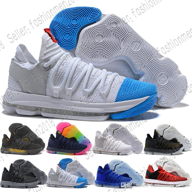 db11c53ce79a Großhandel mit Box Kd 11 Ep Elite Basketballschuhe Kd 11s Herren Multicolor  Peach Jam Herren Doernbecher Kevin Durant 10 Eybl All Star Bhm Sneakers Von  ...