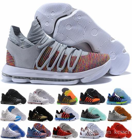 scarpe kd 10 rosso