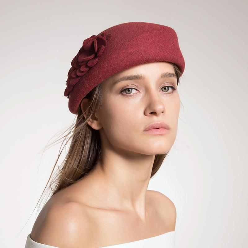 Großhandel Lady Beret Hüte Für Herbst Winter Frauen Französisch ...