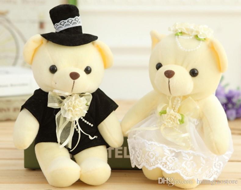 Großhandel Großverkauf / Pair 20cm Paar Bär Hochzeit Teddybär ...