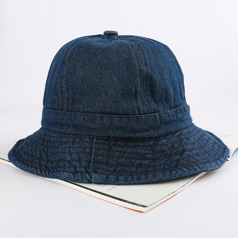 Women Denim Fashionable Outdoor Fishing Sun Hat Floral Fisherman ... f5864ed9a3bb
