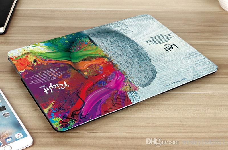 Macbook Air 13-Zoll-Kasten, kreative Gehirn Plastikschutzhülle für MacBook 12
