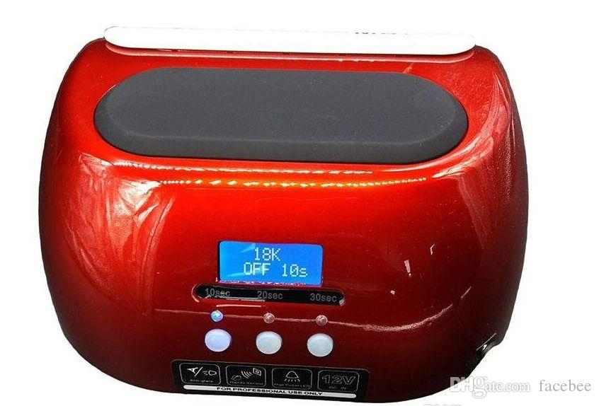 Nail Dryer 48W With LCD Display CCFL UV LED Nail Lamp for Gel Polish With 10sec 20sec 30sec Timer Manicure Pedicure Machine