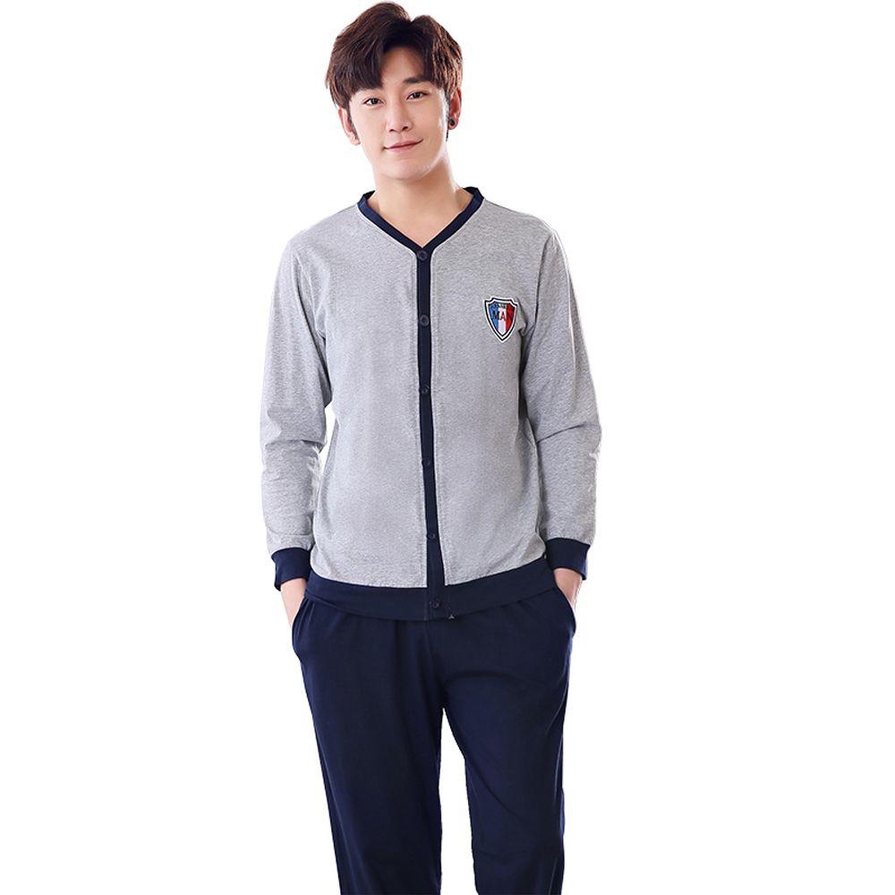 3ddb042e3319 New WAVMIT Men Pajama Sets Spring Autumn Winter Plus Size 100 ...