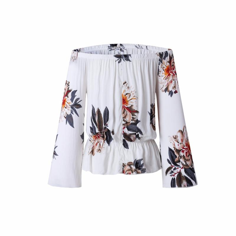 2017-Summer-Beach-Casual-Print-Floral-Chiffon-Blouse-Shirt-Long-Flare-Sleeve-Women-Blouses-White-Backless (1)