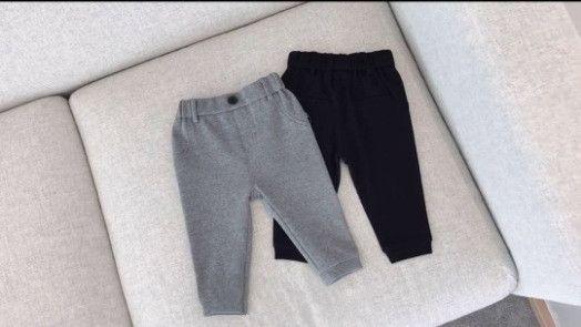 Kinder Kleidung Kinder Hosen 2018 Frühling Und Herbst Jungen Mädchen Pluderhosen Hohe Qualität Baumwollhose Baby Hosen Leggings 2 Farben Großhandel