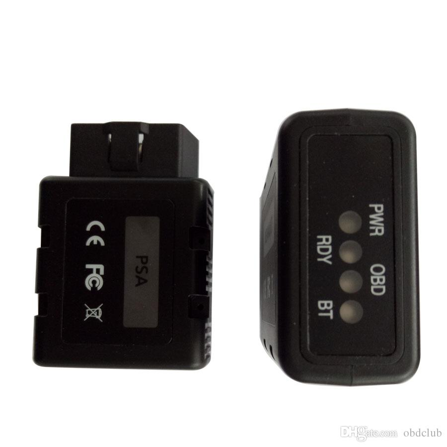 New PSA-COM PSACOM Bluetooth Diagnostic and Programming Tool for Peugeot/Citroen Replacement of Lexia-3 PP2000 Lexia3 Scanner